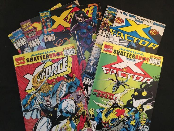 X-Force Annual Vol. 1 No. 1  / X-Factor Annual + More - 7 Comic Books Set in Books, Magazines, Comic Books | eBay!