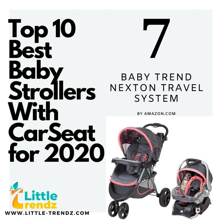 Top 10 Best Baby Strollers with Car Seat for 2020 in 2020 ...
