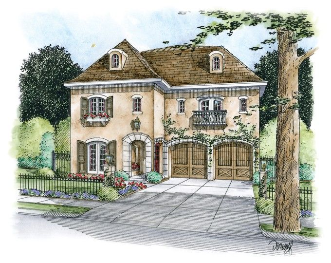 eplans european house plan french country elegance 4066 square feet and 4 bedrooms from - European House Plans