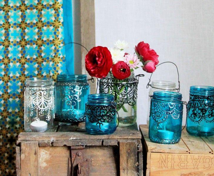 glas-ljus-ljuslyktor-glasburkar-burkar-orientaliskt-inspiration-heminredning-inredning-pyssel-pyssla-diy-beskrivning