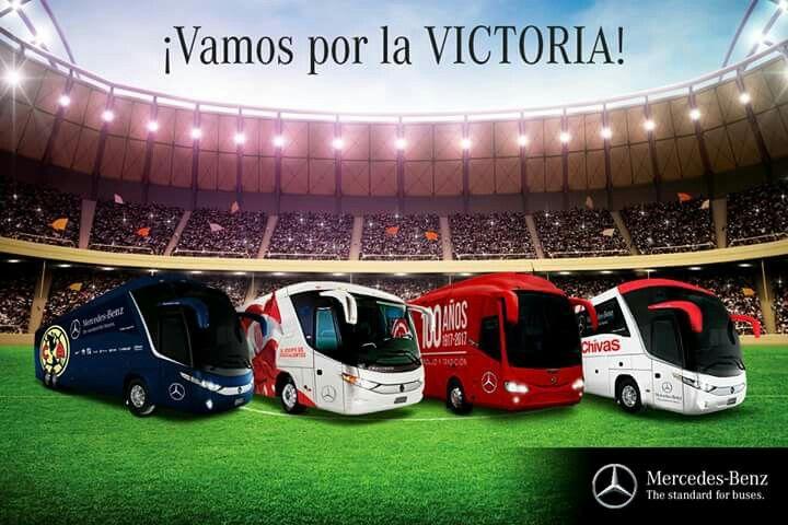 Mercedes benz club América, Necaxa, club deportivo Toluca, club deportivo Guadalajara, marco polo g7 135 'g7 120 mx, irizar i6, marco polo g7 120 mx