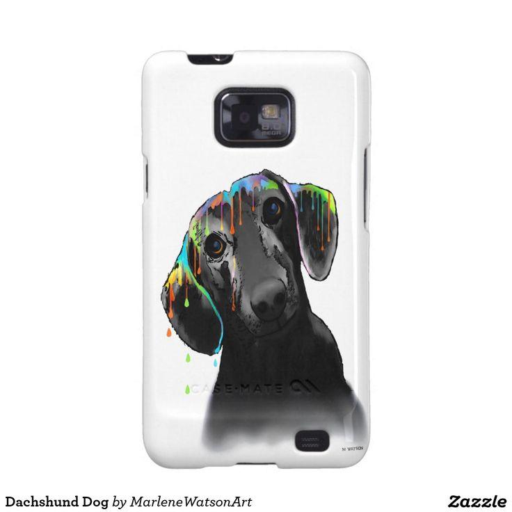 Dachshund Dog Galaxy SII Case