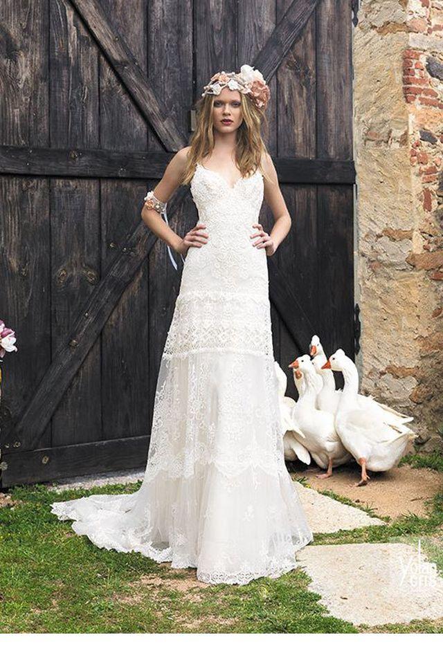 yolan cris robe mariée bohème