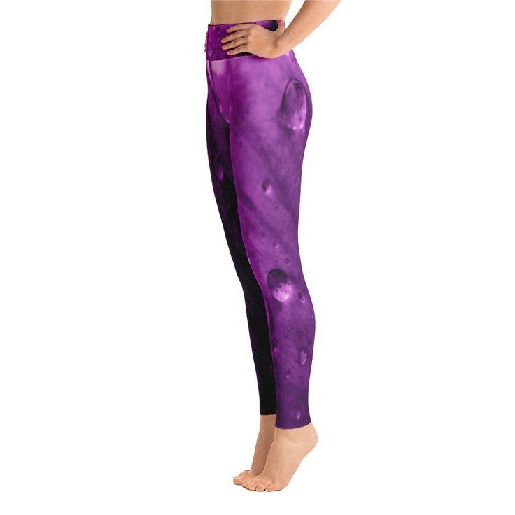 Dark Purple Rosada Yoga Leggings