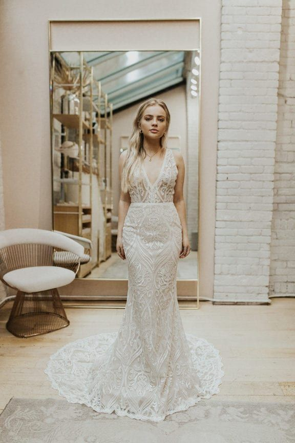 We Love A Good Try On Session Especially When We Get To Play Dress Up In Our New York City Store Check Wedding Dresses Dresses Most Beautiful Wedding Dresses