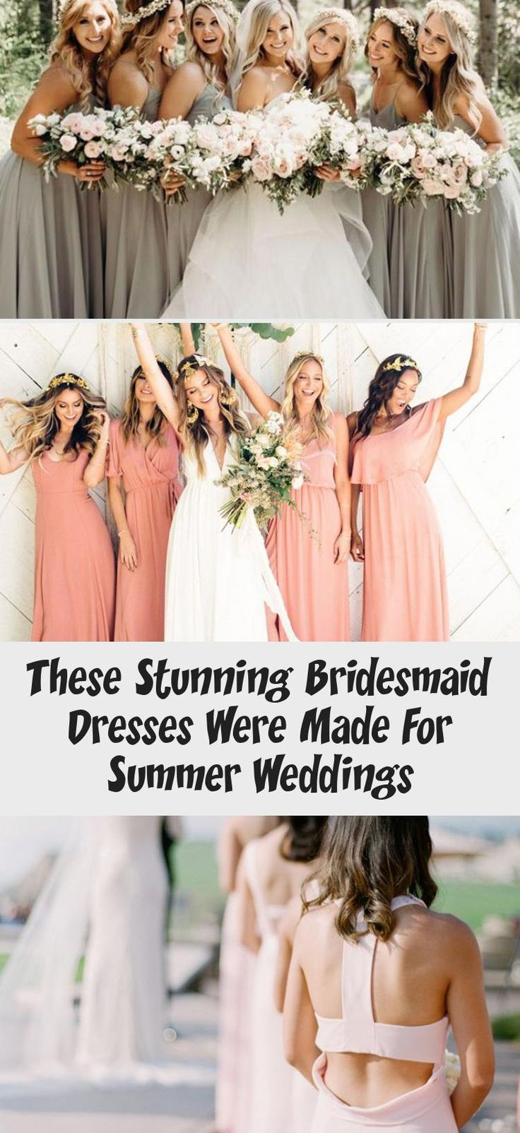 The Most Stunning Summer Bridesmaid Dresses Of 2018 #AfricanBridesmaidDresses #BridesmaidDressesBoho #GoldBridesmaidDresses #BridesmaidDressesTwoPiece #OrangeBridesmaidDresses