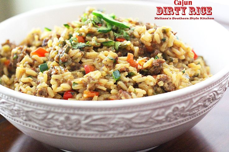 Melissa's Southern Style Kitchen: Cajun Dirty Rice