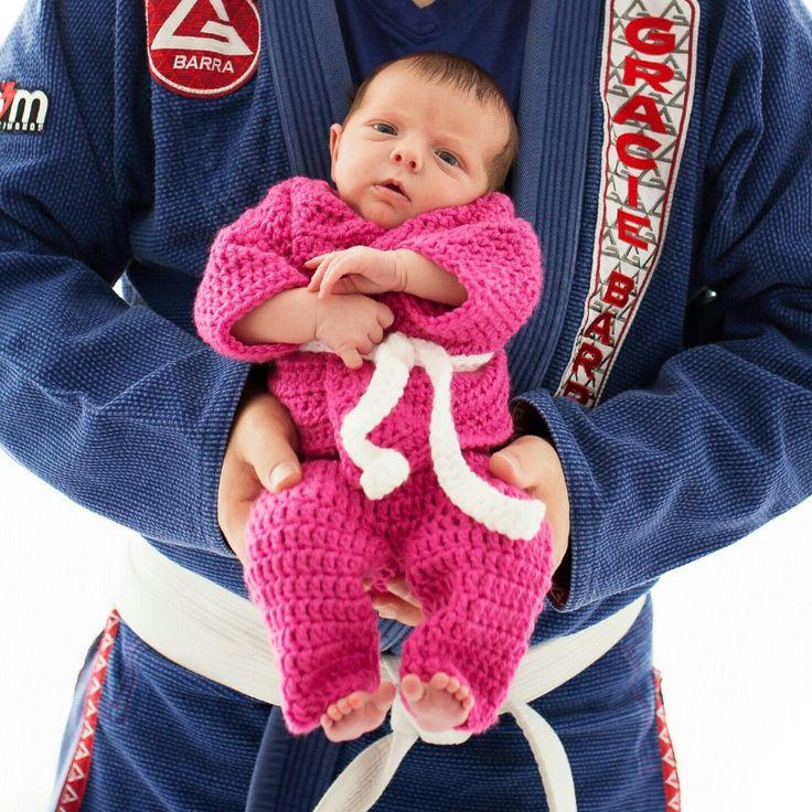 Martial Arts Uniform  Newborn Martial Arts by BitofWhimsyCrochet