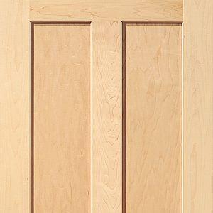 3 Panel Solid Wood Interior Doors