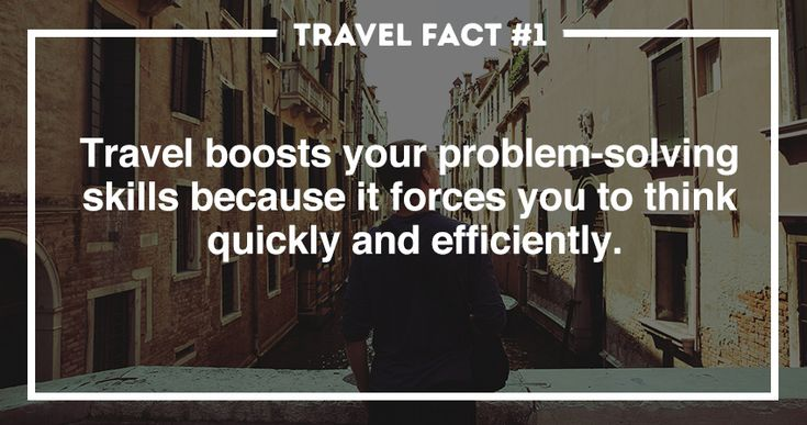 Travel boost problem solving
