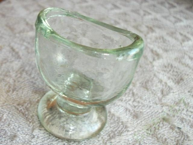 Vintage Soviet Little Medical Glass