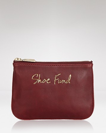 "Rebecca Minkoff Pouch - Cory ""Shoe Fund"" 