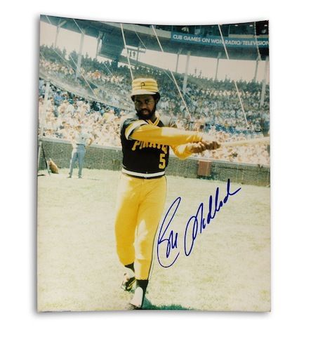 Autographed Bill Madlock Pittsburgh Pirates 8x10