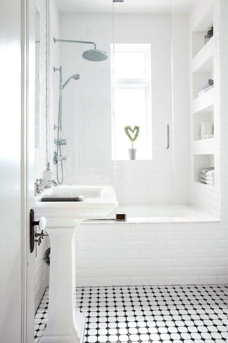 les 25 meilleures idées de la catégorie salle de bains carrelage ... - Salle De Bain Petit Carreaux
