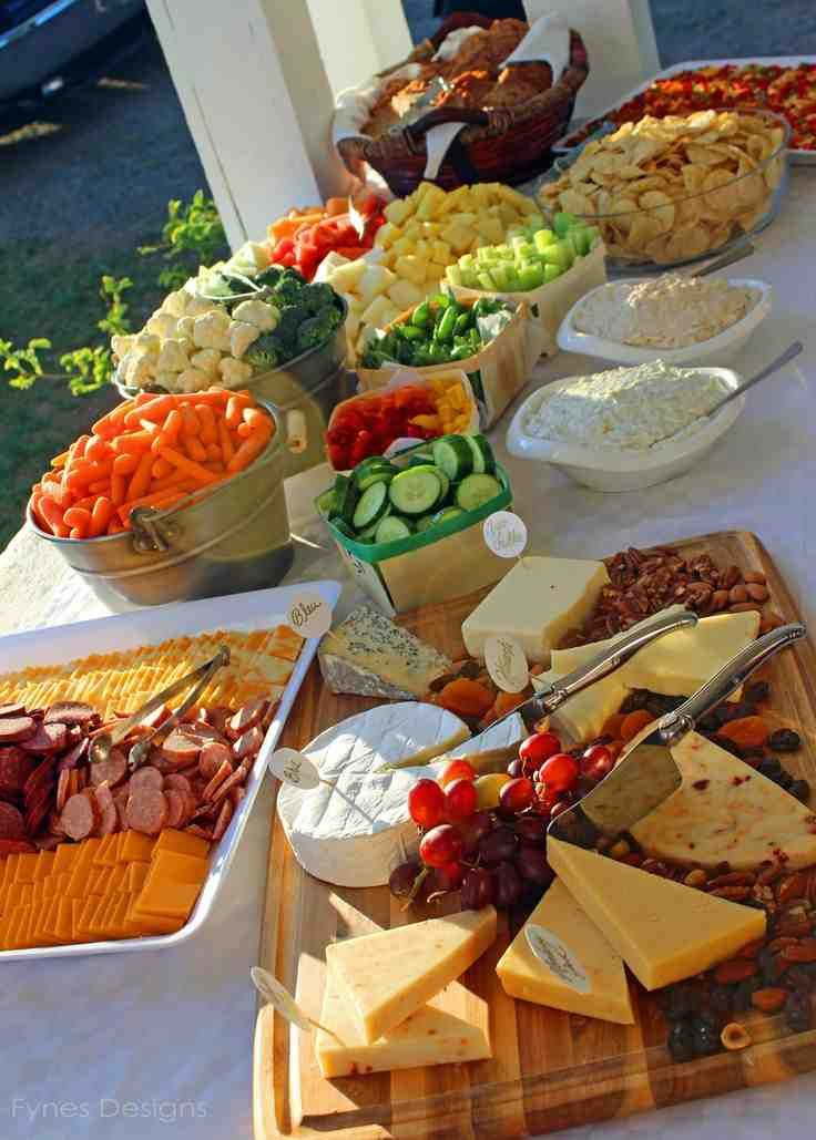 Simple Wedding Reception Food Ideas Simple food ideas for a simply fabulous wedding reception If you're envisioning a small, informal, or--let's face it--economical wedding, you probably need a few simple food ideas.