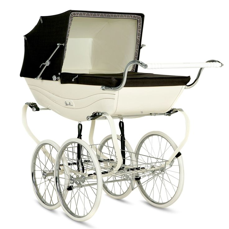 Silver Cross Balmoral Cream Brown Baby Strollers Baby