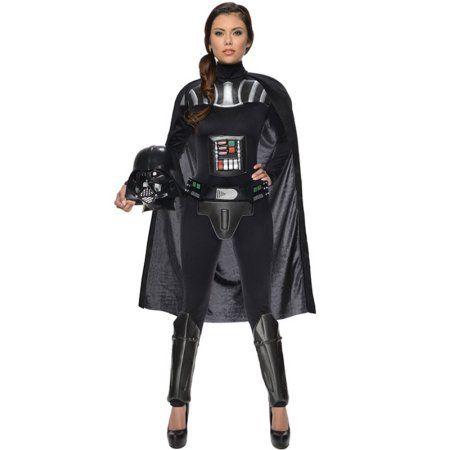Darth Vader Female Adult Costume, Women's, Size: XS, Black