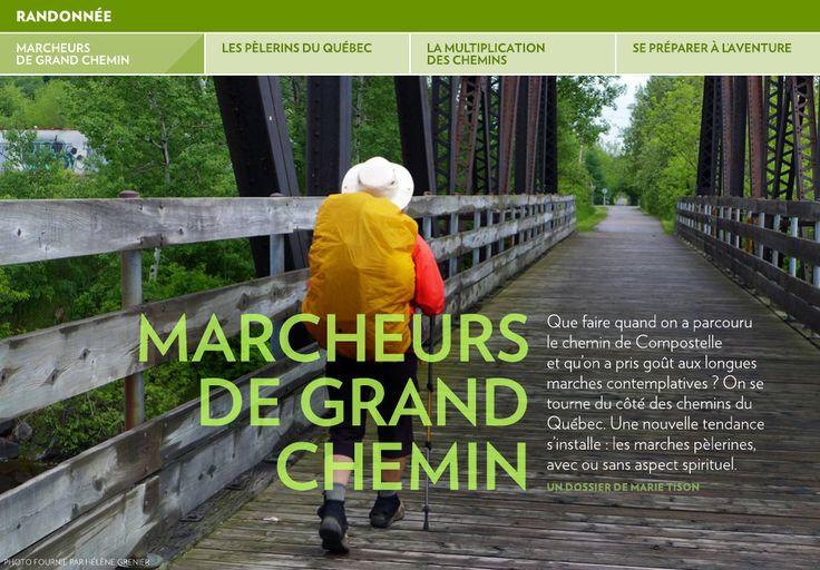 Marcheurs de grand chemin - La Presse+