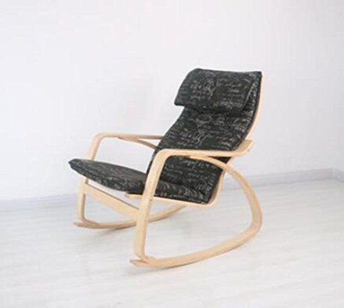 Außergewöhnlich Nimm Einen Stuhl Schaukelstuhl Nordic Balcony Lazy Schaukelstuhl Massivholz  Lounge Sessel Lounge Chair Schaukelstuhl Schwangere Frauen