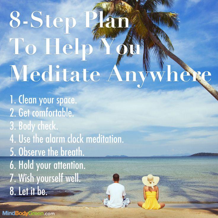 8-Step Plan To Help You Meditate Anywhere