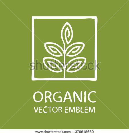 Vector abstract emblem,concept for organic shop or yoga studio, logo design template, organic food,arming, green, vegan food concept,organic logo,Eco emblem,Eco logo,bio logo,organic logo,Eco bio logo