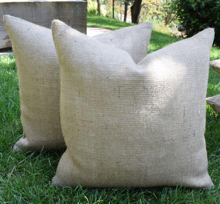 Burlap pillows diy, plain burlap pillow covers, burlap pillows wholesale,burlap pillow covers wholesale, cheap burlap pillows burlap pillows by tghome on Etsy