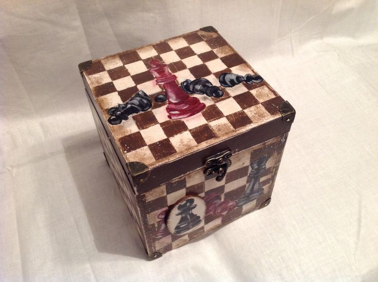 Pudełko na figury szachowe
