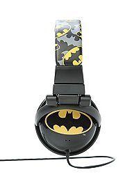 HOTTOPIC.COM - DC Comics Batman Logo Print Headphones