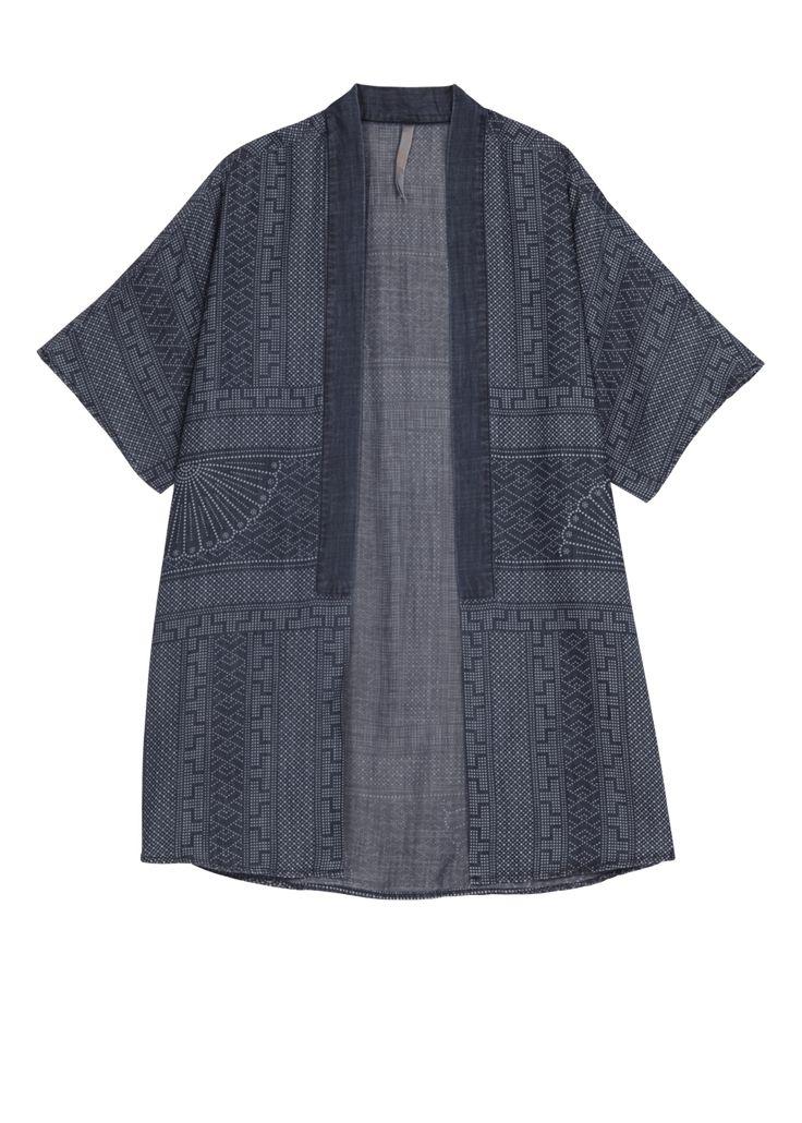 Tibet Printed Kimono at Melissa McCarthy Seven7