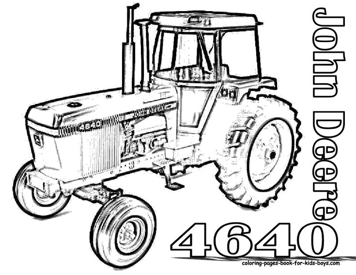coloring pages farmall tractors-#18