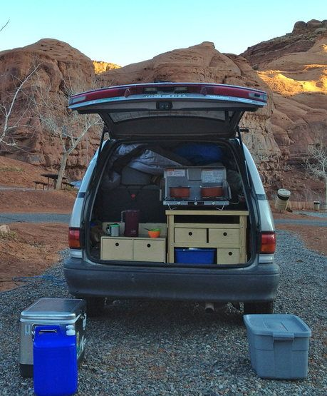 Toyota Awd Van: Previa AWD Kitchen- I Could Do This With My Previa~ Claire