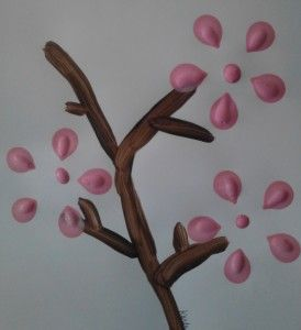Cherry Blossom Art Mothers Day Crafts for Kids