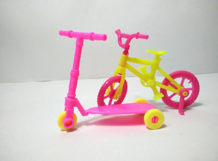 2pcs Kids scooter Bicycles Bikes Mini Toy for Barbie Accessories Girls Birthday Gifts Doll Accessories Fits for 10cm Dolls #>=#>=#>=#>=#> Click on the pin to check out discount price, color, size, shipping, etc. Save and like it!