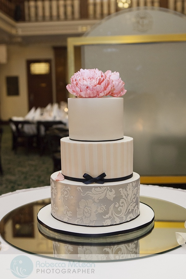 navy blue and pink wedding cake the most beautiful wedding cakes pink and navy blue 17757