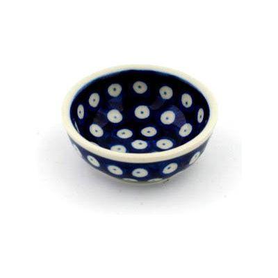 Polish Pottery 2-inch Mini Bowl | Boleslawiec Stoneware | Polmedia H1654B | Polmedia