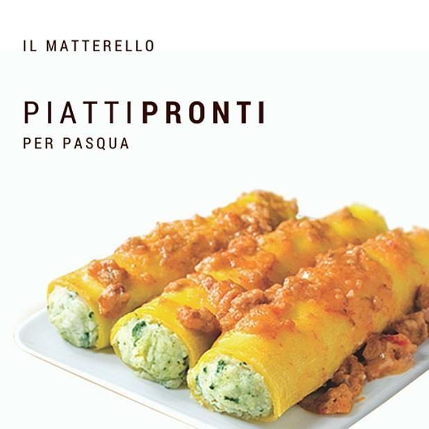 Cannelloni pronti in due minuti per Pasqua!  #ilmatterello #piattipronti #verica #pavullo #madeinitaly #foodporn #goodfood