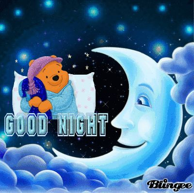 Winnie the Pooh saying Good Night to You (challenge)