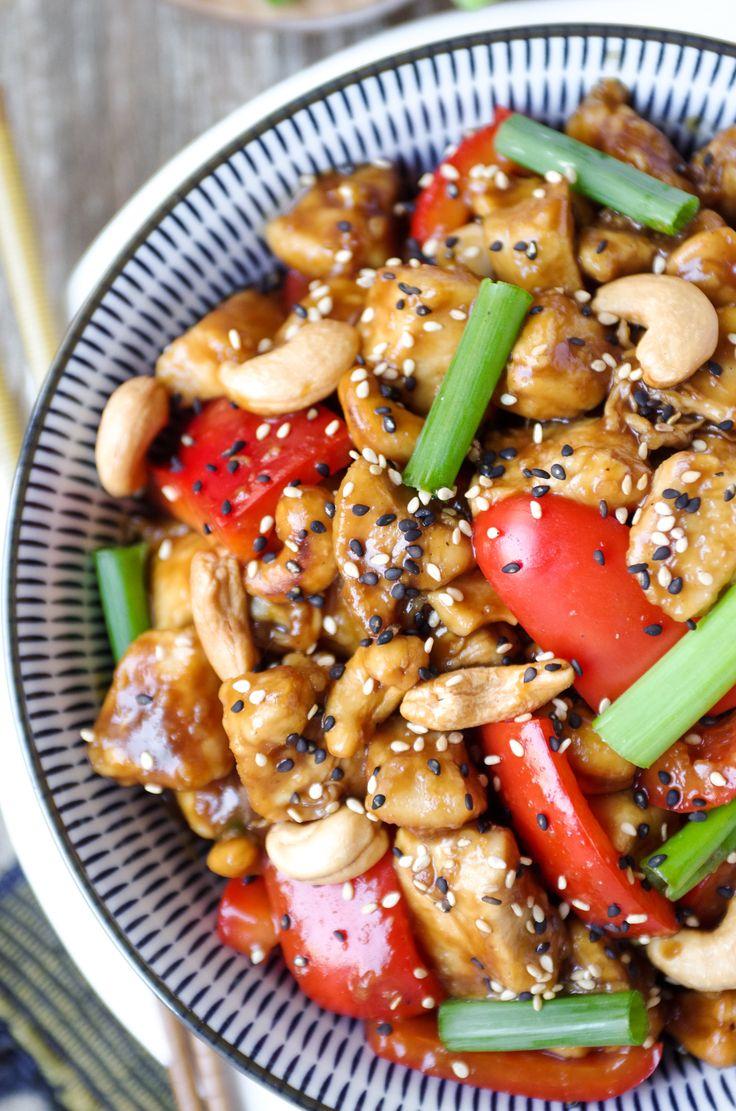 20 Minute Cashew Chicken