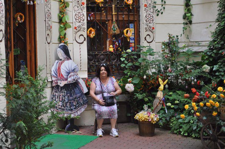 Mum in garden of Eden