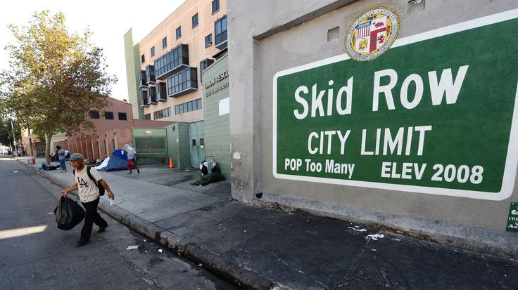 In Los Angeles, more than a thousand people sleep on the street in cardboard boxes and tents — just a mile away from City Hall. Many want to fix Skid Row, but how to do it is extremely controversial.