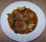 Lamsvlees met courgettes (Arni me kolokithia).