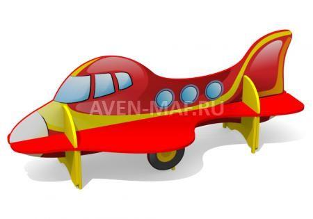 """Скамейка детская из дерева С-170/1 """"Самолетик"""", купить в компании """"Авен"""""""