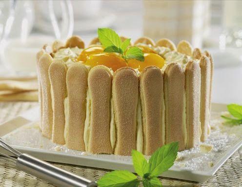 Beste Rezept: Topfen-Malakoff-Torte