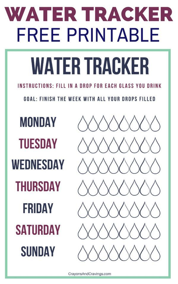 graphic regarding Printable Water Tracker referred to as Seek the services of this absolutely free printable h2o usage tracker towards crank out guaranteed