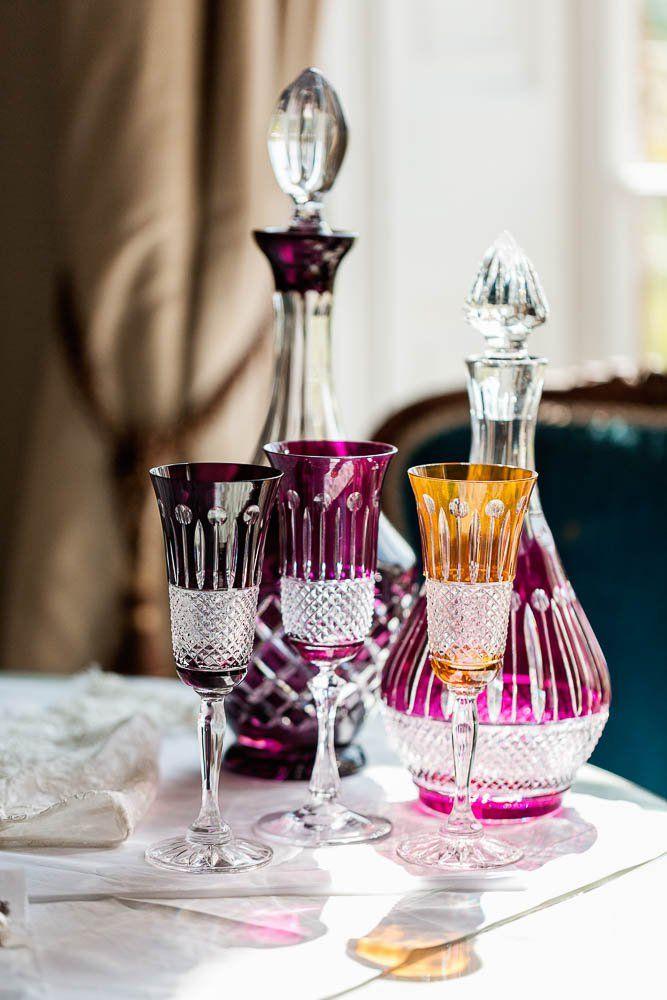 Gurasu Champagne Flutes and Decanters