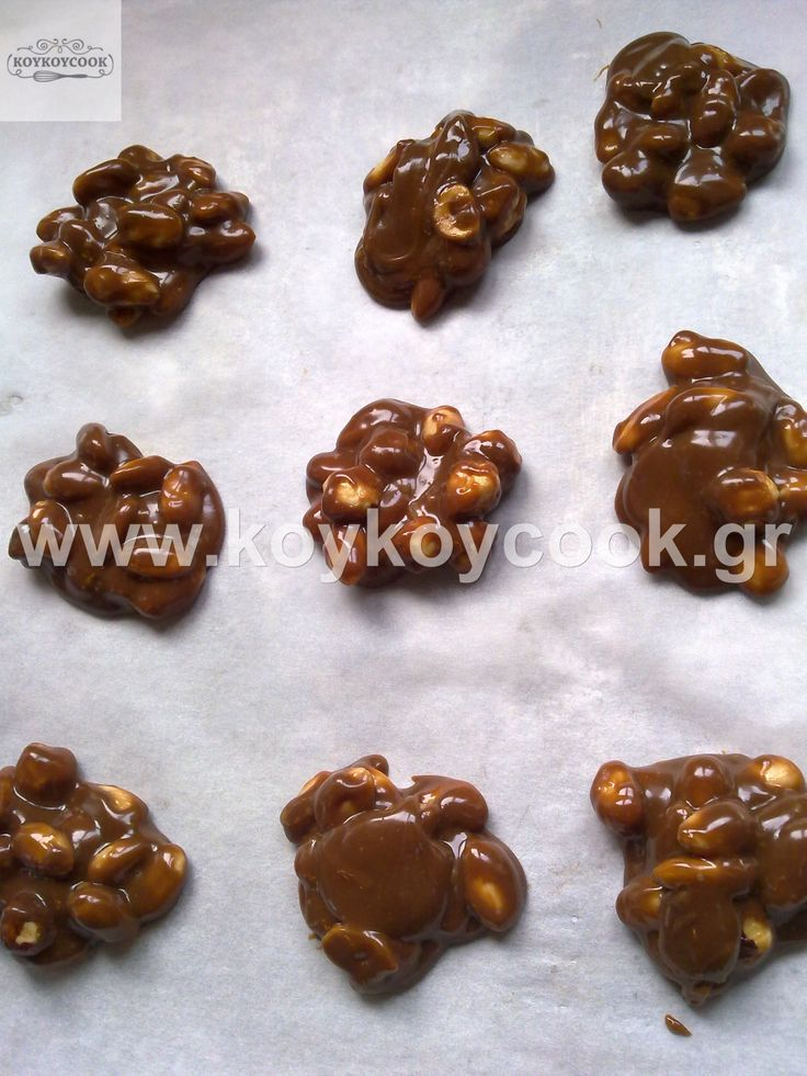 Chocolate truffles with Ganash and nuts