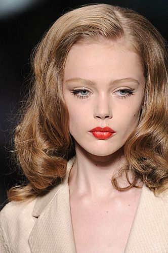 Frida Gustavsson in Christian Dior Spring Summer 2010