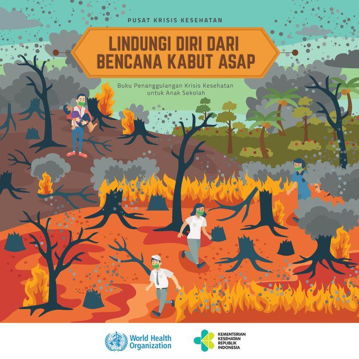 Seri Buku Infografis Bencana untuk Anak Sekolah