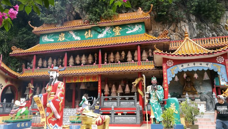 Taoist Temple in Ipoh, Malaysia.