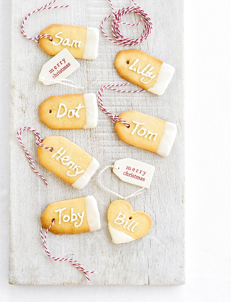 Give presents a personal touch with these delightful, edible gift tags.